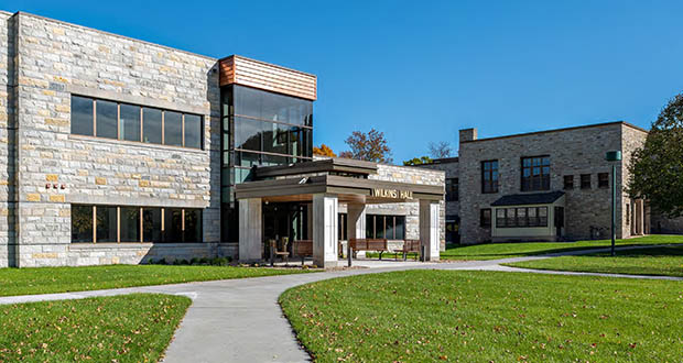 Ed Kodet, founder of Minneapolis-based Kodet Architectural Group, says local architects are busy with a variety of projects, including school construction. Kodet won a Finance & Commerce Top Projects award for this Minnesota State Academy for the Deaf project in Faribault. (Submitted file photo)