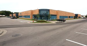 Ohio-based Viking Partners has paid $9.6 million for this multitenant flex building at 9401 James Ave. S. in Bloomington, one of two companion buildings known as Southtech Plaza. (Submitted photo: CoStar)