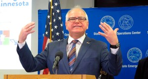 Gov. Tim Walz's $2 billon bonding proposal includes $45.5 million to improve assets at Minnesota prisons, including this Minnesota Department of Correction's facility in St. Cloud. (AP photo: St. Cloud Times)