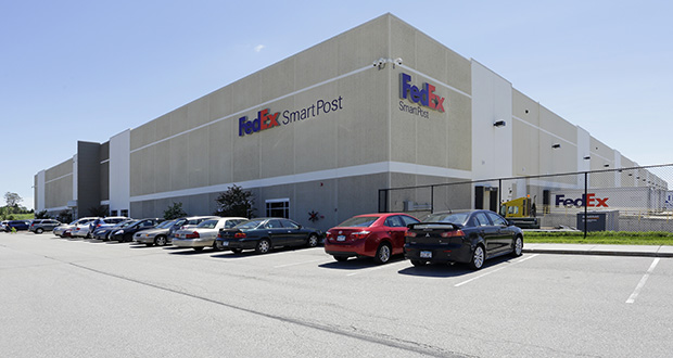 The real estate arm of Travelers purchased a 277,075-square-foot FedEx facility 8450 Revere Lane in Maple Grove along with two other Twin Cities buildings for almost $65 million. (Submitted photo: CoStar)