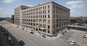 The TractorWorks building in Minneapolis' North Loop won the Renovated Building category at the recent BOMA Gala. (Submitted photo: CoStar)