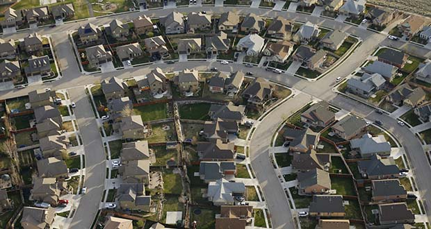This April 13, 2019, photo shows homes in suburban Salt Lake City. Americans shopping for a home this spring may face more competition than they have in years. (AP file photo)