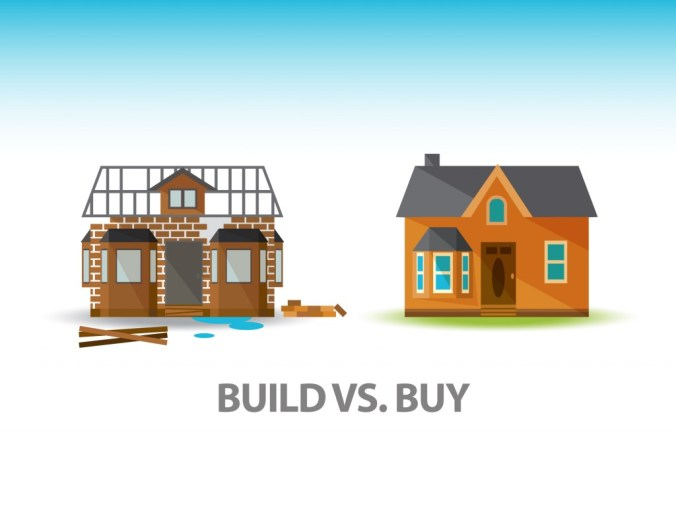 Buying a House vs Building it