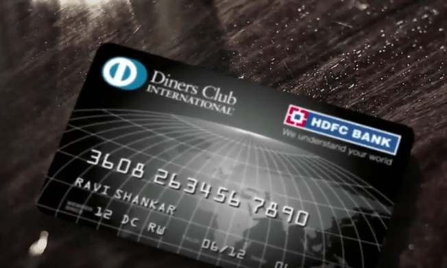 HDFC Bank Dinner Club Credit Card