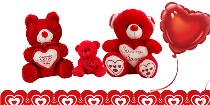 red teddys