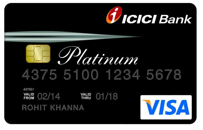 ICICI Platinum Crad
