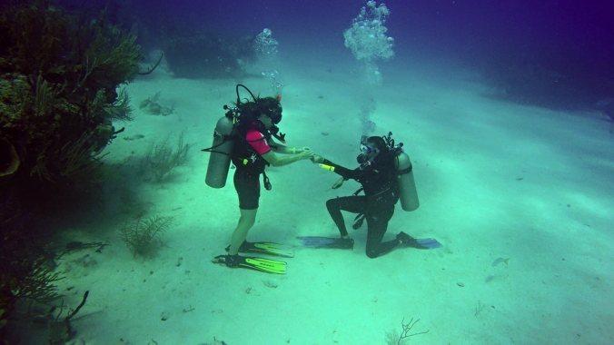 under water proposal