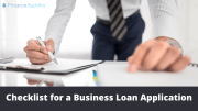 Checklist for a Business Loan Application