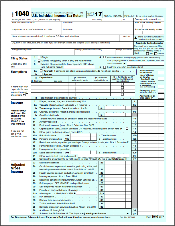 A Basic Overview Of The Us Tax System Finance Clever