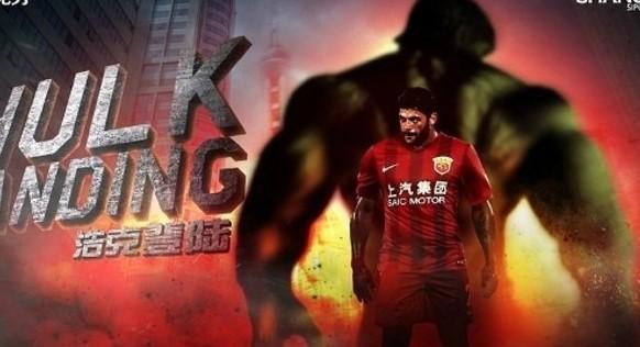 Hulk no topo dos maiores salários no futebol chinês em 2016