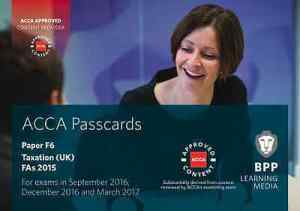 ACCA PASSCARDS - FREE ACCOUNTANCY STUDY MATERIALS