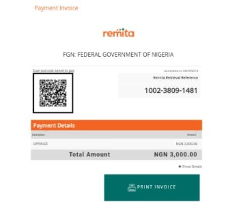 How to generate remita code