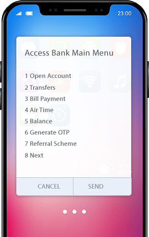 Open Access Bank account with ussd code