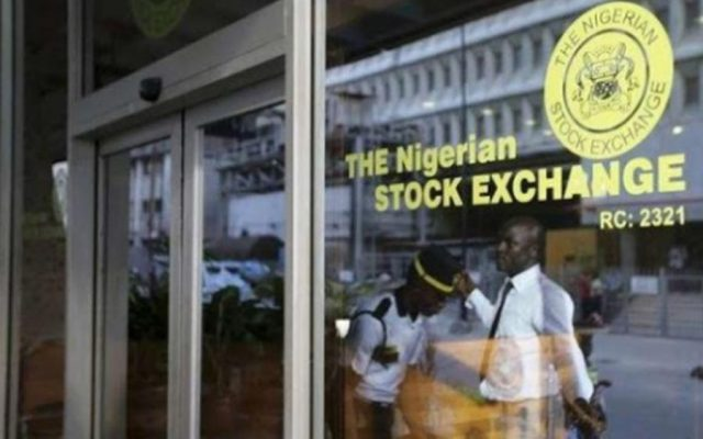 Nigerian stocks closed trading on a negative note as the all share index