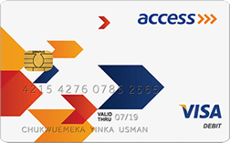 Access bank credit cards