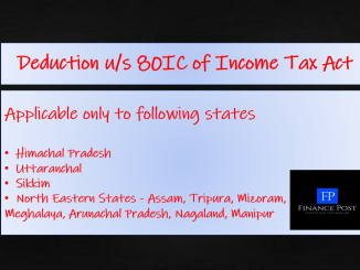 Deduction u/s 80IC of Income Tax Act