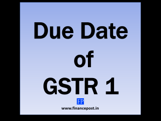 due date of gstr 1