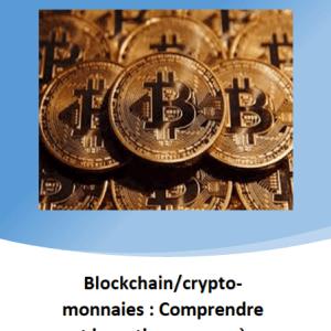 Blockchain et crypto-monnaies