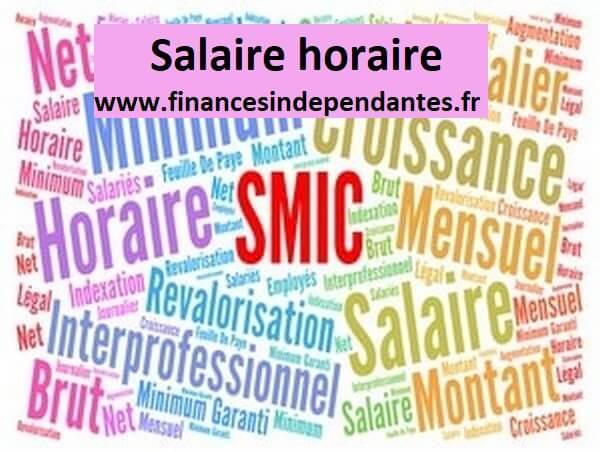 Salaire horaire