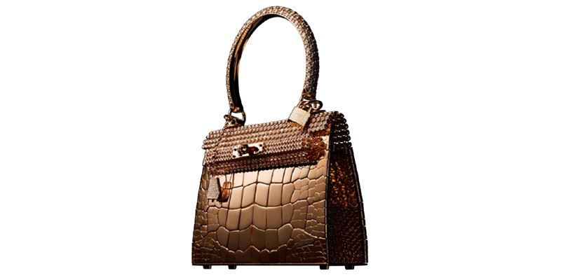 Hermes Rose Kelly Gold - Top 10 Most Expensive Handbags of 2020