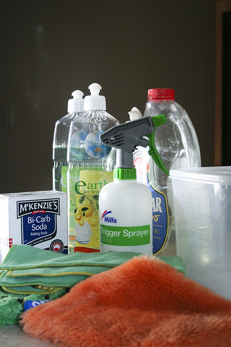making cleaners frugally