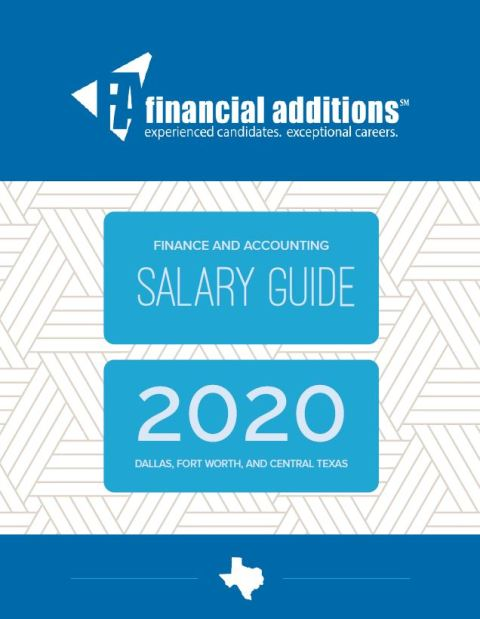 2019 Financial Additions Salary Guide
