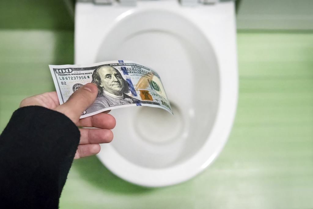 money wasters that're killing your wealth