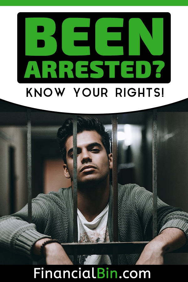 been arrested know your rights