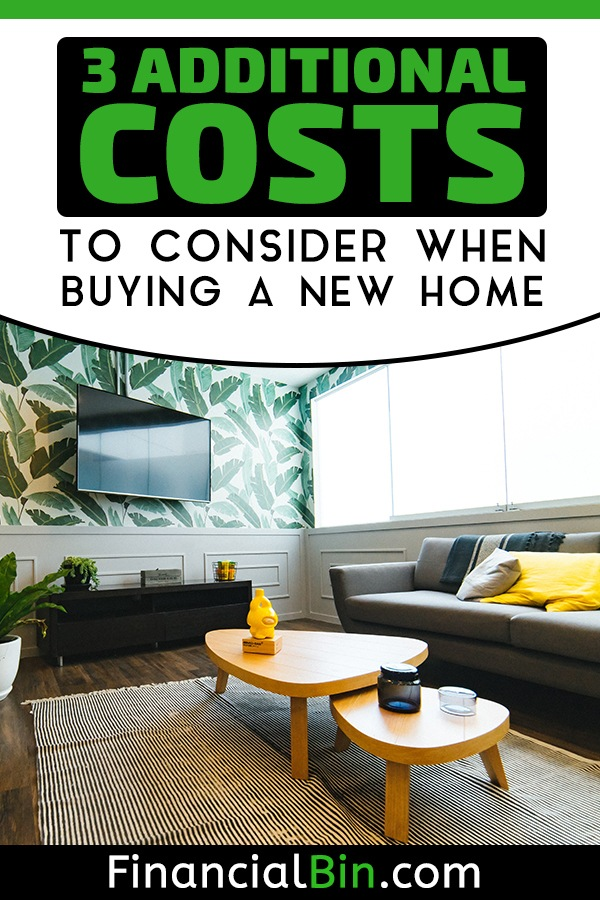 Costs To Consider When Buying A New Home