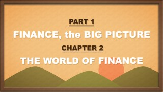 PART1 | CHAPTER2 | 금융의 세상