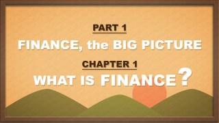 PART1 | CHAPTER 1 | 금융이란 무엇인가?