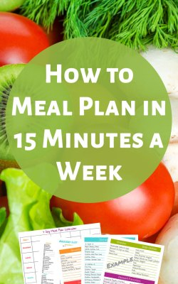 Meal Planning in 15 Minutes a Week - Make Meal Planning and Saving Money Simple!