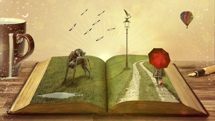 Book History Tell Narrative Fairy Tales Dream