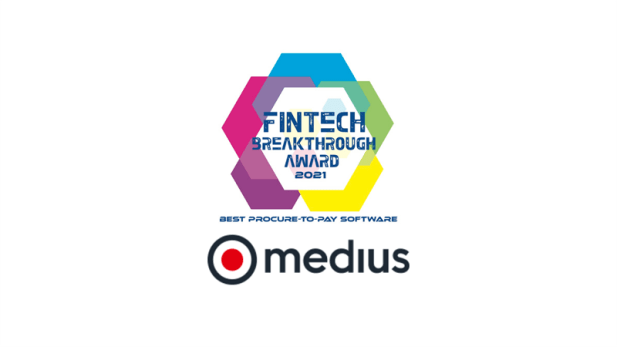 Medius Wins 2021 Fintech Breakthrough Award for Best ...