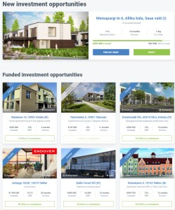 Crowdestate projects
