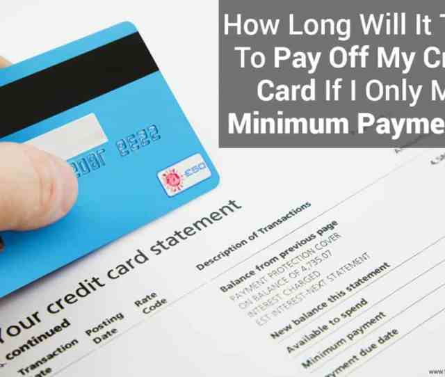 Credit Card Minimum Payment Calculator Image