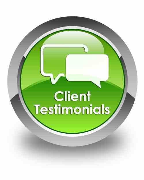 5 Great Testimonials