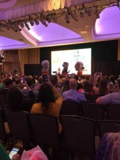 Photo of FinCon opening event