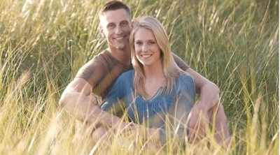 Photo or Derek and his partner from Life and my Finances for Young Debt-Free Family interview
