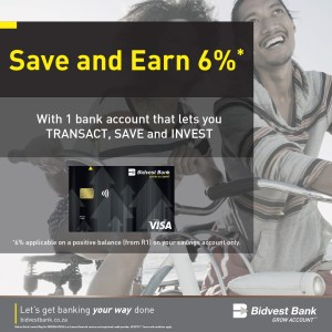 Bidvest Bank One Account