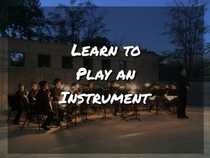 Learning to Play an Instrument
