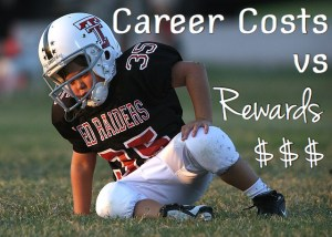 Career Costs vs Rewards
