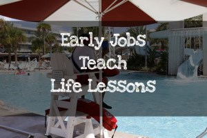 Early Jobs Teach Life Lessons