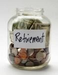 Retirement jar - full