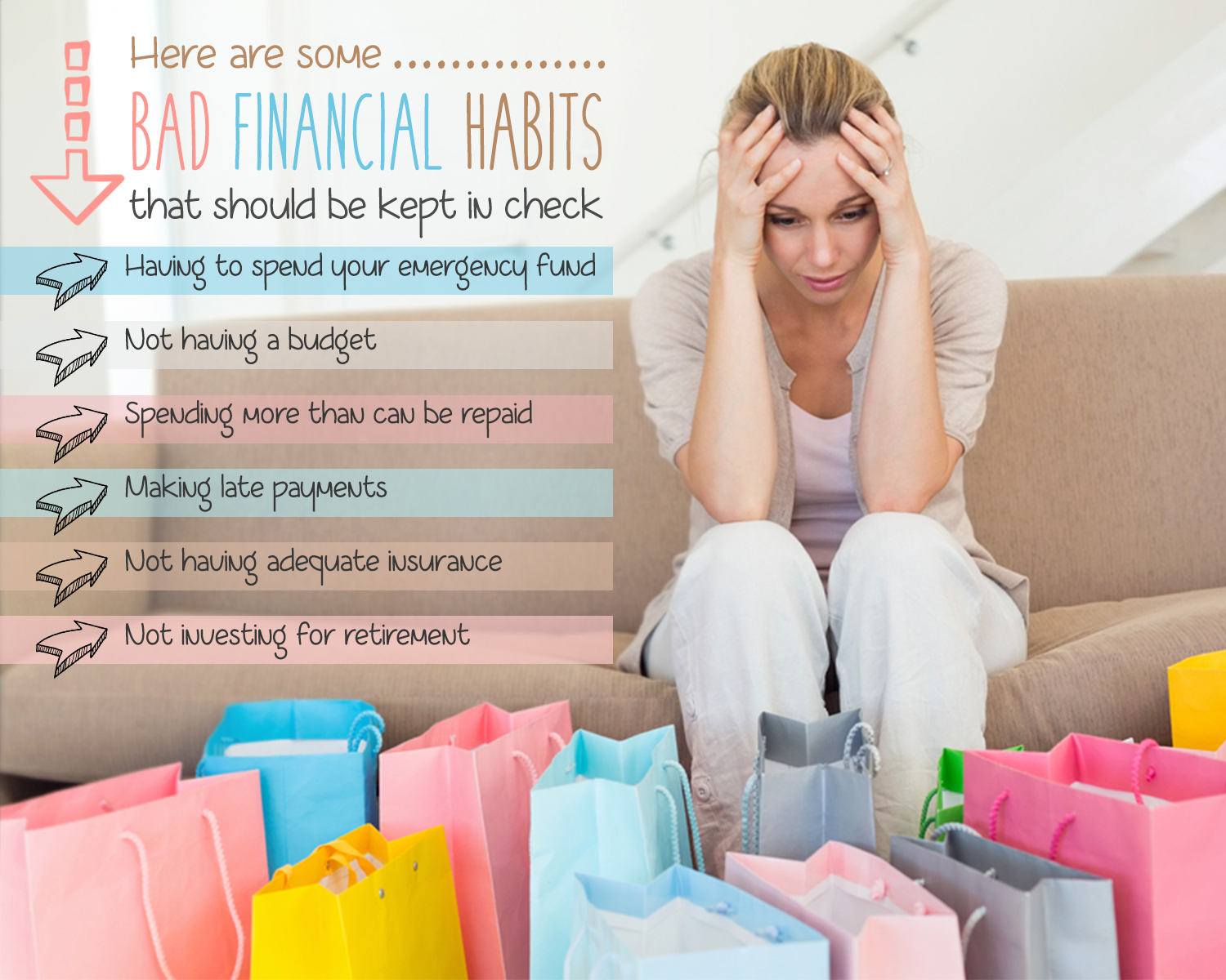how to break bad financial habits