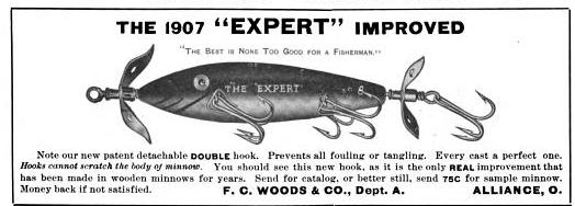 FC Woods Expert Lure Ad Shields 1907