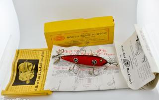 South Bend 5 Hook Antique Lure in SR