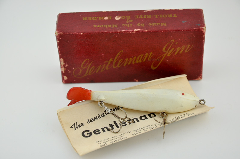 Gentleman Jim Lure with Pflueger Archives Bait