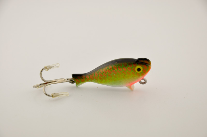 Heddon Top Sonic Lure Uncatalogued Gold Green