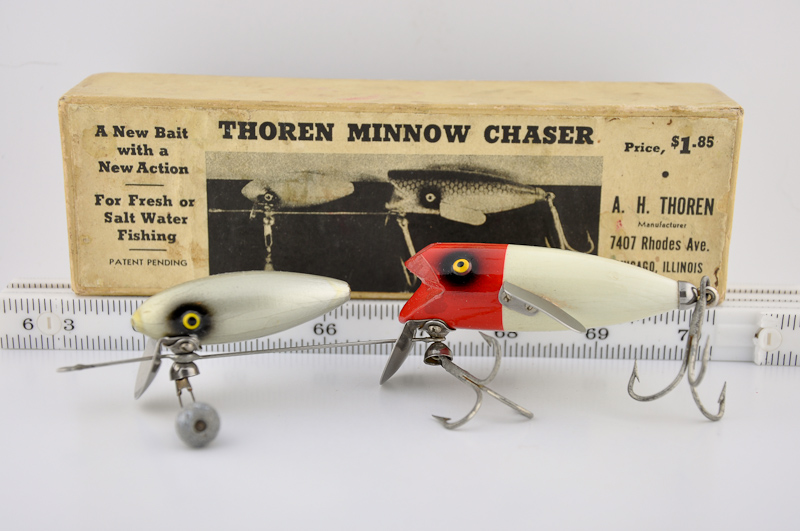 Thoren Minnow Chaser Lure and Box